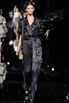 Dolce & Gabbana Spring 2009 Ready-to-Wear Fashion Show - Ali Stephens