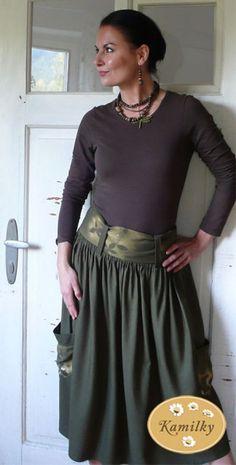 Vyprodávání Sukýnka -50%(pův.cena 1332kč) Midi Skirt, Skirts, Fashion, Dinner, Moda, Midi Skirts, Fashion Styles, Skirt