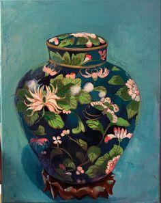 Green Cups, Green Vase, Grandma Moses, Original Art, Original Paintings, Love My Kids, Jackson Pollock, Beautiful Children, Beautiful Paintings