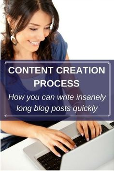 Content creation process: How you can write insanely long blog posts quickly Content Marketing Strategy, Marketing Communications, Media Marketing, Business Storytelling, Storytelling Techniques, Blog Topics, Social Media Content, Blogging For Beginners, Posts