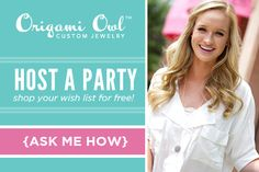 The Origami Owl Jewelry Bar can go absolutely anywhere...the possibilities are endless! It's versatile enough to bring to a fun night out with girlfriends, events, to a doctor's office, or even the break room at work. You really can bring this Jewelry Bar anywhere! Plus, hostesses receive free jewelry credit! lindsayd.origamiowl.com
