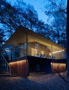 Kengo Kuma – Extend and Incline to forest houses, East Japan 2013