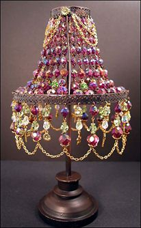 1000 Images About Beaded Lampshades On Pinterest