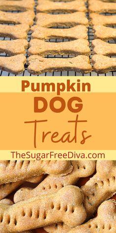 Pumpkin Treats For Dogs