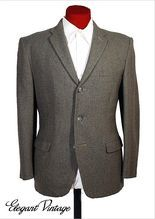 Vintage 50s-60s Dunn 3 Button Tweed Sport Coat * 37-38 S from Maire McLeod on Ruby Lane