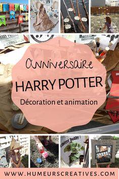organiser un anniversaire sur le thème Harry Potter . Des idées de décorations , d'animations et d'activités pour enfants