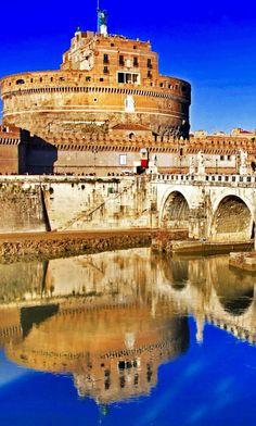 Castel Sant'Angelo, Roma, Lazio. 41°54′11.01″N 12°27′58.61″E