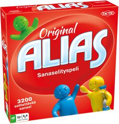 Tactic Games Alias - The Original Hilarious Word Explaining Game Guess The Word, Word Board, Typing Games, More Words, Word Games, Game Pieces, Aliens, Sand Timers, The Originals