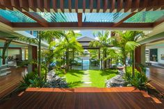 trendsideas.com: architecture, kitchen and bathroom design: At the water's edge – tropical setting by Chris Clout