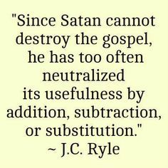 NO OTHER GOSPEL Galatians 1:6-10