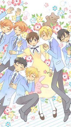Colégio Ouran Host Club, Host Club Anime, Anime Amor, Anime Kiss, Bts Anime, Anime Manga, Anime Tumblr, Club Poster, Ouran Highschool