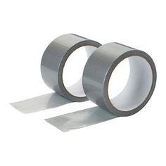 Diall Silver Gaffer tape Pack of 2 - B&Q for all your home and garden supplies and advice on all the latest DIY trends Gaffer Tape, Duct Tape, Packing, Wedding Rings, Engagement Rings, Silver, Tmnt, Easy, Gray