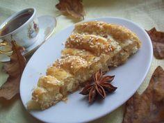 Пирог с о слоеным тестом и лимоном