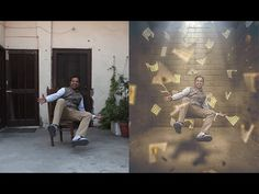 Levitation Photo Effects Tutorial Photoshop Design, Photoshop Tutorial, Photoshop Images, Effects Photoshop, Photoshop Actions, Adobe Photoshop, Photoshop Youtube, Levitation Photography, Photoshop Photography
