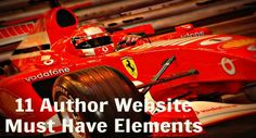 Must haves for Author Websites