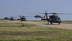 Aviators with the 2-10 Assault Helicopter Battalion, 10th Combat Aviation Brigade, completed their two-day mission after flying fifteen UH-60 Black Hawks from Plovdiv, Bulgaria, into Mihail Kogalniceanu Air Base, Romania, July 24-25, 2017. The Fort Drum based task force is currently deployed throughout Eastern Europe in support of Operation Atlantic Resolve, a U.S. European Command, U.S. Army Europe-led exercise that promotes regional stability and security, and enhances interoperability