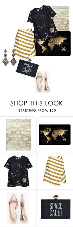 """Без названия #1074"" by fridamania ❤ liked on Polyvore featuring York Wallcoverings, Oliver Gal Artist Co., Valentino, Zign and Sevan Biçakçi"