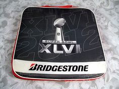 Sold NFL 2012 Super Bowl XLVI Stadium Seat Cushion Giants Patriots