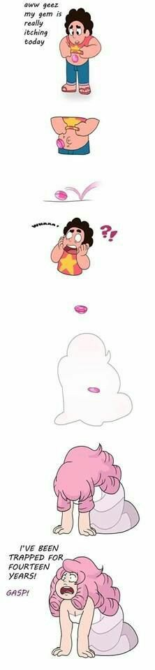 If Steven's gem was itchy.