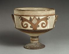 Kylix  Period: Cypro-Archaic I Date: ca. 750–600 B.C. Culture: Cypriot Medium: Terracotta