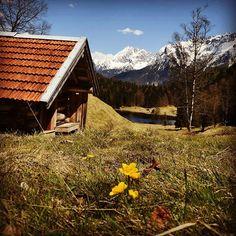 #bergsüchtig #mountains #werdenfelserland #photography #nikon #bluesky #sun #spring #bavariansky #karwendel #ferchensee #mittenwald #mountainlove #gipfelglück #bergliebe