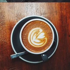 It's all about the simple pleasures in life. #coffee #latte