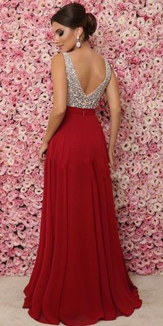 Sparkling Beaded V-Neck Long Prom Dress Custom Made Long Sequins Evening Party Dresses Fashion Long School Dance Dresses Source by upromdresses fashion evening Pageant Dresses, Evening Dresses, Dresses Dresses, School Dance Dresses, Party Frocks, Dresses For Teens, Get Dressed, Pretty Dresses, Dress Making