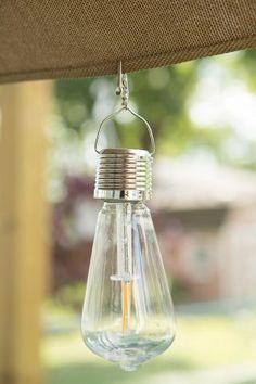 Vintage Edi-Sol Solar Light Bulb (Set of Solar Light Bulb, Solar Light Crafts, Outside Party Lighting, Decorative Solar Lights, Apartment Porch, Flickering Lights, Solar Lanterns, Diy Chandelier, Light Project