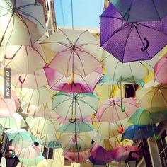 Beautiful street decoration - Gemmayze Lebanon