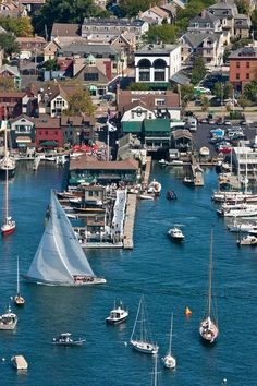 To escape the heat of Houston, Texas, our writer and her husband head to historic Newport, Rhode Island, for the perfect long-weekend escape. Here you can gawk at Gilded Age mansions, charter an America's Cup yacht, go on a cliff walk, ride bikes down Ocean Drive, and eat, eat, eat: The Lawn at Castle Hill, Jamestown Fish, and the White Horse Tavern are just a few of the highlights.