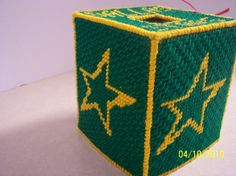 Dallas Star tissue box