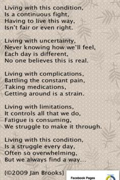 Life with Fibromyalgia/ Chronic Pain