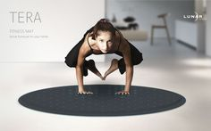 The Tera Fitness map aims to bring the fun back to Yoga and your workout sessions.
