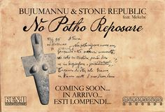 "Bujumannu & Stone Republic new single ""No Potho Reposare"" (Reinterpretation)  Artwork by Kenji"