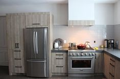 Home - Pioneer Cabinetry Home, Kitchen Cabinets, Cabinet, Cabinetry, Modern, Kitchen, Kitchen Appliances, French Door Refrigerator