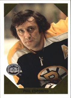 Phil Esposito, Bobby Orr, Boston Bruins Hockey, Hockey Cards, Nhl, 1930s, Sports, Pictures, Vintage