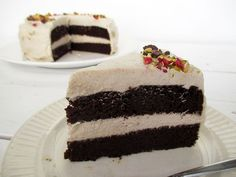 Vegan Gluten-free Dairy-free Oil-free Chocolate Cake With Super Creamy Vanilla Frosting Recipe