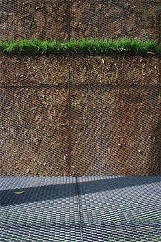 Seksan Design - Landscape Architecture and Planning Malaysia Architecture Details, Landscape Architecture, Landscape Design, Gabion Wall, Sibu, Land Art, Urban Design, Garden Landscaping, Fence