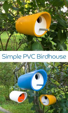 20 Low Budget DIY PVC Garden Projects You Can Do , A list of DIY PVC Garden Projects with DIY instructions on low budget. PVC pipe are often used in house construction and watering fitting, but becaus., 20 Low Budget DIY PVC Garden Projects You Pvc Pipe Crafts, Pvc Pipe Projects, Diy Garden Projects, Outdoor Projects, Wood Projects, Garden Ideas, Wooden Crafts, Garden Tools, Bird House Plans