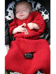 Knitting - Patterns for Children & Babies - Cocoon Patterns - Sweet Dreams Baby Bunting