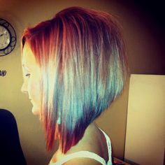 Long swing bob!  Love! If my hair would only grow fast I'd love to do this