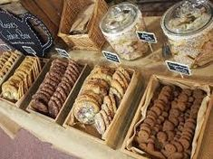 Image result for how to display cookies on a tray
