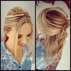 Cliente Satisfeita NÃO TEM PREÇO!!!!! ❤ #domingoedia #princesa #penteado #escovariadonnabi