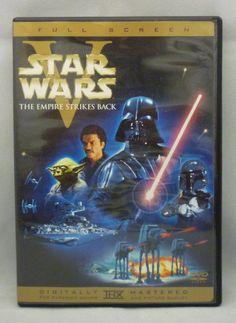 Official Star Wars Episode V Empire Strikes Back DVD Fullscreen 2004 Edition OOP @starwars
