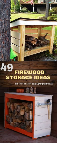 Build firewood storage with limited tools and plans from experts. Design  ideas for outdoor firewood storage shed and indoor racks for seasoning  firewood. 527fb000007b8