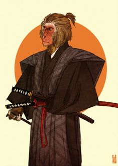 Anthros is an eye-catching collection of anthropomorphic animal illustrations by US-based digital artist Kim Nguyen. What exactly is anthropomorphic? Character Concept, Character Art, Concept Art, Character Design, Human Personality, Monkey Art, Art Sculpture, Monster, Furry Art