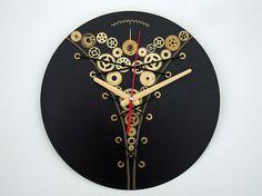 Wall clock Steampunk Corset wall clocks steampunk by OlgaArtShop
