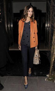 OP in stars. Fashion Week Fall 2012