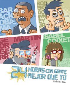CATALONIA COMICS: 24 HORAS CON GENTE MEJOR QUE TU