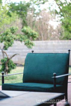 Diy Experiment Use Regular Spray Paint On Outdoor Cushions Home